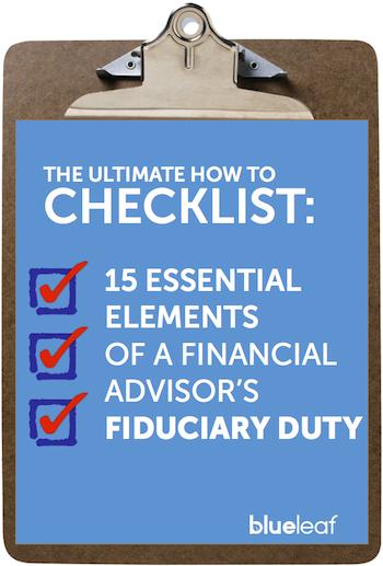 Fiduciary Checklist